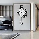 baratos Desenhos Animados Relógios de Parede-Moderno / Contemporâneo Madeira Inovador Interior / Exterior,Baterias AA alimentadas AA