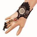 ieftine Accesorii Lolita-Gotic Negru Lolita Accesorii Vintage Dantelă Brățară / Brățară rigidă Dantelă Costume de Halloween