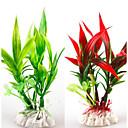preiswerte Aquarium Deko & Kiesel-Aquarium Dekoration Verzierungen / Wasserpflanze Waschbar / Nicht - giftig & geschmacklos / Dekoration Kunststoff