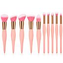 billige Øyenvipperedskap-10-pack Makeup børster Profesjonell Børstesett Økovennlig / Myk Tre / Bambus