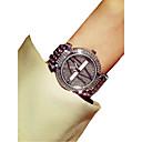 halpa Naisten kellot-Naisten Rannekello Japani Ajanotto / Loistava / jäljitelmä Diamond Metalliseos Bändi Ylellisyys / Tyylikäs Hopea / Kulta  / Kaksi vuotta / Sony SR626SW + CR2025