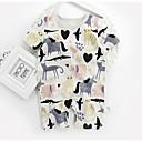 ieftine Set Îmbrăcăminte Bebeluși-Bebelus Unisex De Bază Imprimeu Mânecă scurtă Bumbac O - piesă