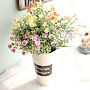 cheap Artificial Plants-Artificial Flowers 1 Branch Simple Style / Modern Chrysanthemum / Eternal Flower Tabletop Flower