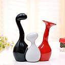 cheap Christmas Decorations-3pcs Ceramic Modern / Contemporary for Home Decoration, Home Decorations Gifts