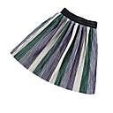 זול חצאיות לבנות-חצאית פסים קולור בלוק בנות ילדים פעוטות