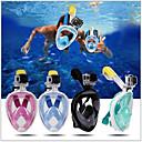 povoljno Maske, disalice i peraje-Ronjenje Maske Bez curenja Jedan prozor - Plivanje silika gel - Za Dječji Zelen / Anti-Magla / Sprječava ulazak vode