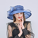 cheap Wedding Wraps-Women's Basic / Holiday Sun Hat - Solid Colored Mesh / Fabric / Summer