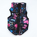 cheap Jewelry Sets-Dogs / Cats / Pets Winter Clothing Dog Clothes Solid Colored / Print / Spots & Checks Blue / Black / Khaki Cotton Costume For Pets Female