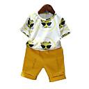 povoljno Jakne i kaputi za dječake-Dijete koje je tek prohodalo Dječaci Aktivan Print Kratkih rukava Komplet odjeće