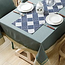 tanie Obrusy-Współczesny Bawełna Kwadrat Obrus Geometryczny Dekoracje stołowe 1 pcs