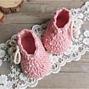 ieftine Lenjerie Fete & Șosete-Fete Pantofi Croșet Toamnă Confortabili Adidași Imitație de Perle pentru Galben / Albastru / Roz