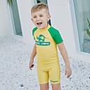 tanie Pianki, skafandry i koszulki-SABOLAY Dla chłopców Skafander z lycry Szybkie wysychanie, Odporność na promieniowanie UV, Zdejmowany Poliester / Spandeks / Chinlon Krótki rękaw Stroje kąpielowe Stroje plażowe Stroje kąpielowe