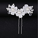 cheap Party Headpieces-Imitation Pearl / Lace Hair Clip / Hair Stick with Lace / Flower / Crystals / Rhinestones 1 Piece Wedding / Special Occasion Headpiece