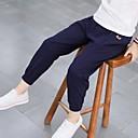 tanie Spodnie dla chłopców-Dzieci Dla chłopców Aktywny Jendolity kolor Spodnie