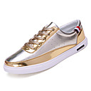 cheap Women's Sneakers-Men's PU(Polyurethane) Fall Comfort Sneakers Gold / Black / Silver