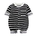ieftine Set Îmbrăcăminte Băieți Bebeluși-Bebelus Unisex De Bază Dungi Manșon Lung O - piesă / Copil