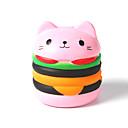 זול מפיגי מתח-צעצוע מעיכה / מקל מתחים חתול / המבורגר הפגת מתחים וחרדה / צעצועים לחץ לחץ דם Others 1pcs לילדים כל מתנות