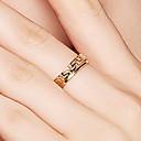 olcso Parti fejdíszek-Női Band Ring / Nyissa meg a gyűrűt - S925 ezüst Kecses, Egyszerű, Vintage 8 Arany Kompatibilitás Napi / Randi