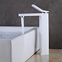 preiswerte Badarmaturen-Waschbecken Wasserhahn - Verbreitete Korrektur Artikel Mittellage Einhand Ein Loch