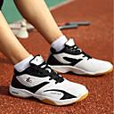 זול נעלי ספורט לגברים-בגדי ריקוד גברים עוד עור חיות קיץ נוחות נעלי ספורט שחור / אדום / כחול