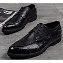 ieftine Saboți și Mocasini Bărbați-Bărbați Pantofi de confort Piele Toamnă Oxfords Negru