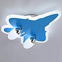 preiswerte Kronleuchter-ZHISHU 2-Licht Unterputz Raumbeleuchtung Lackierte Oberflächen Acryl Glas Abblendbar 110-120V / 220-240V Dimmbar mit Fernbedienung Inklusive Glühbirne / integrierte LED