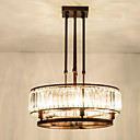 cheap Chandeliers-ZHISHU 5-Light Crystal Chandelier Ambient Light Painted Finishes Metal Crystal, Mini Style, Adjustable 110-120V / 220-240V Bulb Included