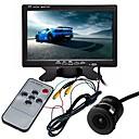 Недорогие Камеры заднего вида для авто-ziqiao 7-дюймовый многофункциональный дисплей tft-lcd ccd / 170-градусный водонепроницаемый комплект для просмотра автомобиля