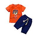povoljno Majice za dječake-Djeca Dječaci Print Kratkih rukava Komplet odjeće