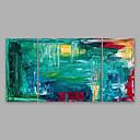 tanie Wydruki-Hang-Malowane obraz olejny Ręcznie malowane - Streszczenie Nowoczesny Others