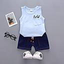 ieftine Set Îmbrăcăminte Băieți Bebeluși-Copii / Copil Băieți Mată Fără manșon Set Îmbrăcăminte