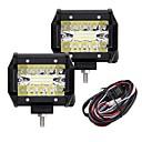baratos Ferramentas de pesca-2pcs Carro Lâmpadas 60W LED Integrado 6000lm 20 LED luzes exteriores For Universal 2018