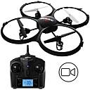 tanie Quadrocoptery RC i inne  zabawki latające-RC Dron UDI R / C U818A BNF 4 kalały Oś 6 2,4G Z kamerą HD 2.0MP 720P Zdalnie sterowany quadrocopter Tryb Healsess Zdalnie Sterowany Quadrocopter / Aparatura Sterująca / 1 Akumulator do drona