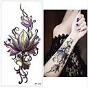 tanie Damskie obuwie sportowe-3 pcs Naklejki z tatuażem Tatuaże tymczasowe Seria kwiatowa Sztuka na ciele Nadgarstek