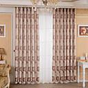 preiswerte Schuhe für Zeitgenössischen Tanz-Vorhänge drapiert Schlafzimmer Blumen 100% Polyester Jacquard Jacquard