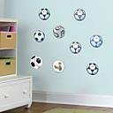 ieftine Acțibilde de Perete-Autocolante de Perete Decorative - Autocolante perete plane Fotbal Sufragerie Dormitor Baie Bucătărie Cameră de studiu / Birou