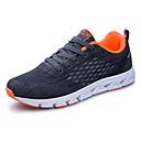 זול נעלי ספורט לגברים-בגדי ריקוד גברים טול סתיו נוחות נעלי אתלטיקה ריצה שחור / כחול כהה / אפור כהה