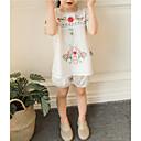 povoljno Kompletići za djevojčice-Dijete koje je tek prohodalo Djevojčice Geometrijski oblici Kratkih rukava Komplet odjeće