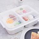 זול צנצנות ותיבות-ארגון המטבח קופסת אוכל זכוכית קל לשימוש 1pc