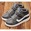 povoljno Cipele za dečke-Dječaci Cipele PU Jesen zima Udobne cipele Sneakers za Crn / Dark Blue / Sive boje