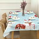 tanie Obrusy-Nowoczesny Kwadrat Obrus Geometric Shape / Wzory Dekoracje stołowe 1 pcs