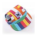 preiswerte Hundekleidung-Hunde / Katzen / Haustiere Hüte, Kappen & Bandanas Hundekleidung Einfarbig / Cartoon Design / Slogan Schwarz / Streifen / Leopard Oxford