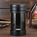 ieftine Cupe & Căni-Drinkware Oțel inoxidabil / PP+ABS Cupa vid Portabil / -Izolate termic / Reținerea de căldură 1pcs