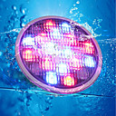 cheap Night Lights-YouOKLight 1pc 18W Underwater Lights Remote Controlled Decorative RGB 24V Swimming pool