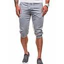abordables Anillos-Hombre Básico Shorts Pantalones - Un Color
