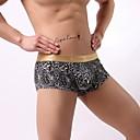 رخيصةأون مجوهرات الجسم-للرجال شورت قصير جلد نمر منخفضة الخصر