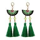 cheap Earrings-Women's Drop Earrings - Romantic, Fashion Black / Rose / Green For Party / Daily