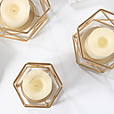 preiswerte Kerzen & Kerzenhalter-Modern / Zeitgenössisch Eisen Kerzenhalters Kerzenhalter 1pc, Kerze / Kerzenhalter