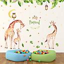 preiswerte Wand-Sticker-Dekorative Wand Sticker - Tier Wandaufkleber Tiere Kinderzimmer / Abziehbar