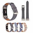 tanie Inteligentny zegarek Akcesoria-Watch Band na Fitbit Charge 2 Fitbit Bransoletka skórzana Prawdziwa skóra Opaska na nadgarstek